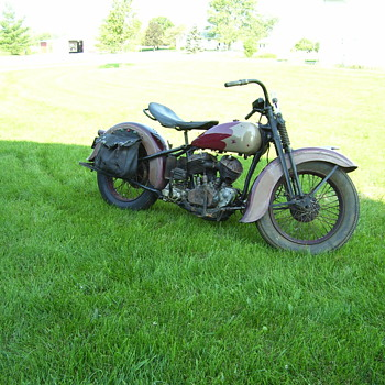 1934 Harley - Motorcycles