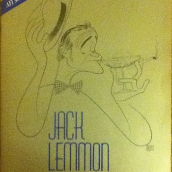 Jack Lemmon Life Achievement Award Souvenir Book - Movies