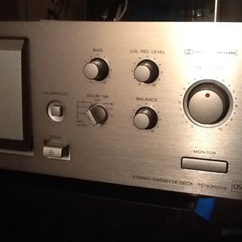 Sony TC-KB920S cassette deck - Electronics