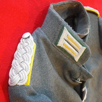 German Mystery Jacket - Military and Wartime