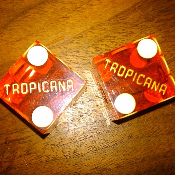 Dice from Tropicana