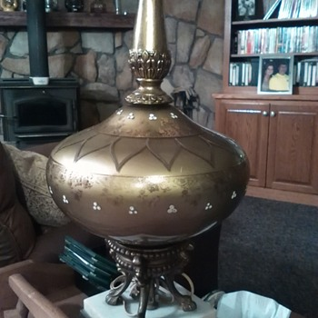 Not sure what type of antique lamp