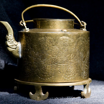 Asian Brass Teapot