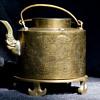 Asian Brass Teapot