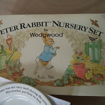 Peter Rabbit Nursery Set - China and Dinnerware