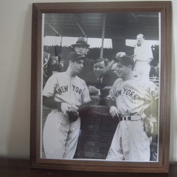 Game 1 1938 World Series Photo - Baseball