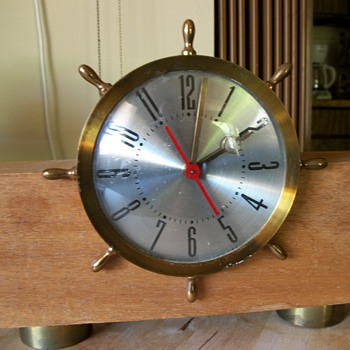 O.B. McClintock electric clock