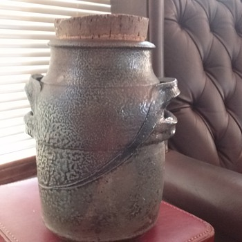 Mystery clay pot - Art Pottery