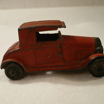 Tootsie Toy Model A - Model Cars