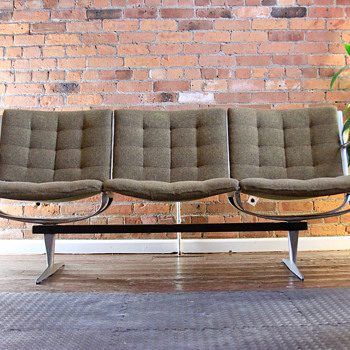 Mid-Century Modern Sofa & Chairs (with no label or markings) - Mid Century Modern