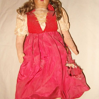 old German doll
