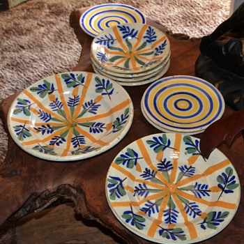Beautiful Dishes from Spain - 1915 - Art Pottery