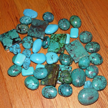 Turquoise? Is this all turquoise?