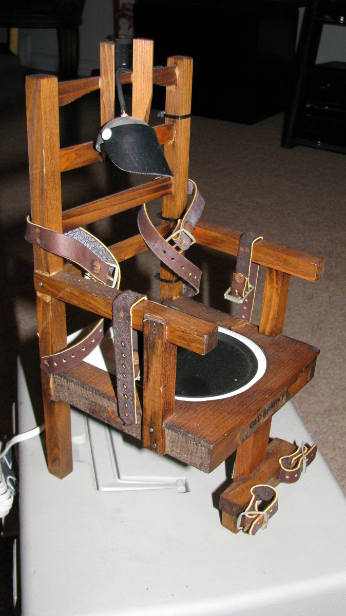 Old Sparky Electric Chair Beverage Warmer Collectors Weekly