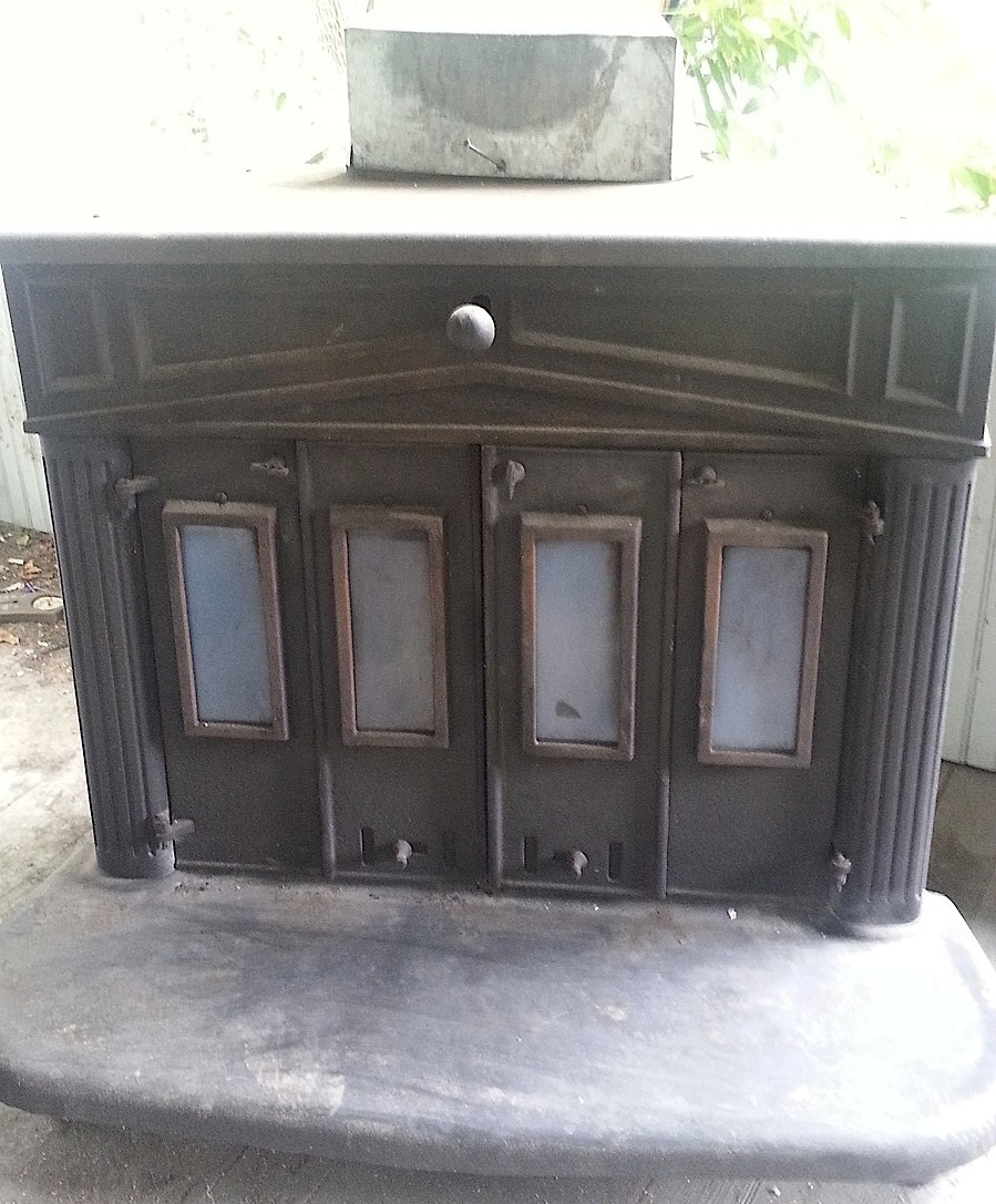 ben franklin wood stove - wood boring insects