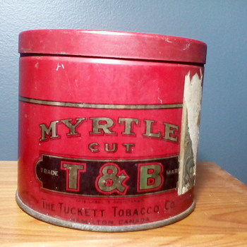 T & B Tobacco Tin