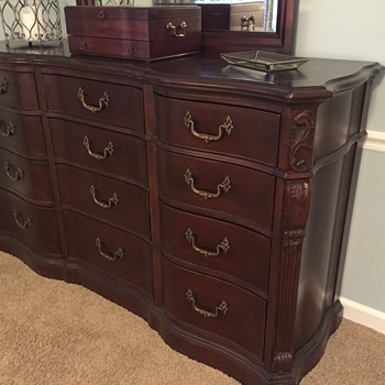 Searching for pieces to this Bassett Dresser