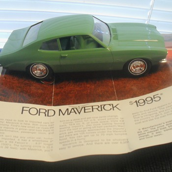 1970 Maverick promo by Jo-Han - Model Cars