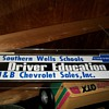 Drivers training decals