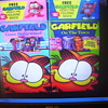 COLLECTOR'S EDITIONS WITH FIGURINES!!, GARFIELD THE CAT, VHS MOVIES,(2) NEW OLD STOCK,UNOPENED 1990