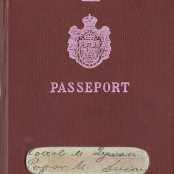 """WW2 spy's passport 1940 - """"007"""""""