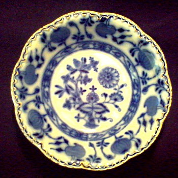 "Johnson Bros. England 6"" Bowl/ Flow Blue ""Holland"" Pattern / Circa 1900-1905 - China and Dinnerware"