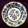 "Johnson Bros. England 6"" Bowl/ Flow Blue ""Holland"" Pattern / Circa 1900-1905"