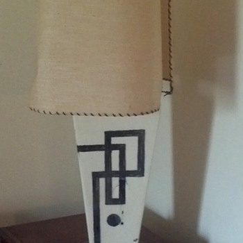 Mid Century Lamp