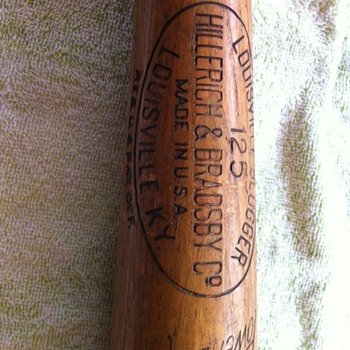 Jackie Robinson Game Used Bat