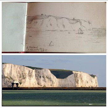 Photos matching sketches from a British Officers note book c.1890s