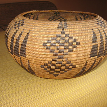 my native american basket - Native American