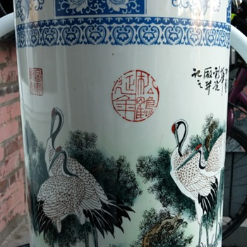 18 inches high very beautifull japanese vase