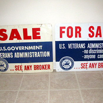 Veteran's Administration Signs - Signs