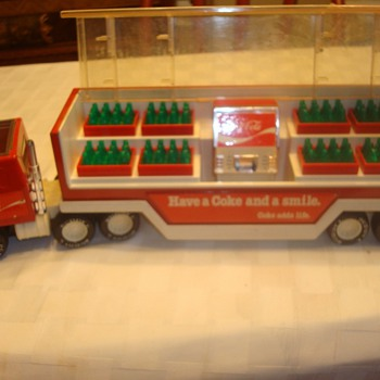 Buddy L Coca Cola Mack Truck - Model Cars