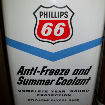 Antifreeze 1 gallon cans - Petroliana