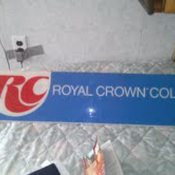 old rc cola sign  - Signs