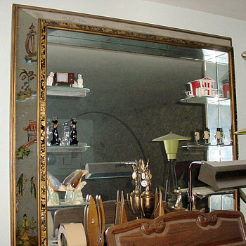 Some very large 40's & 50's mirrors
