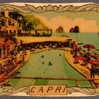 Travel Decal - Capri, Italy