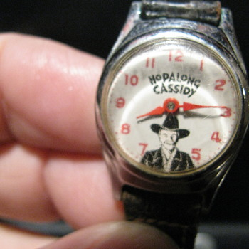 Hopalong Cassidy wristwatch