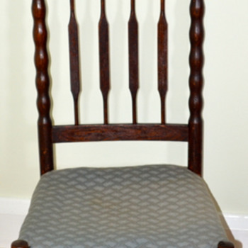 Prayer Chair from Yard Sale  - Furniture