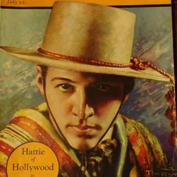 Rudolph Valentino Movie Magazines - Paper