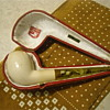 Pioneer Meerschaum Pipe with Real Amber Mouth Piece