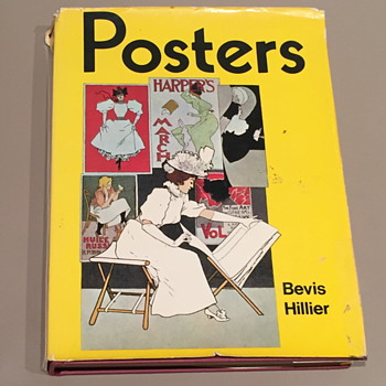 Book on posters by Bevis Hiller.