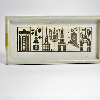 RARE KOBENHAVN  GUSTAVSBERG  - SWEDEN  - Art Pottery