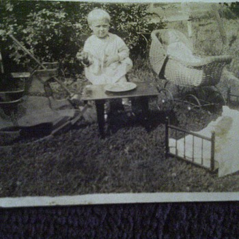 Grandmothers baby photo - Photographs