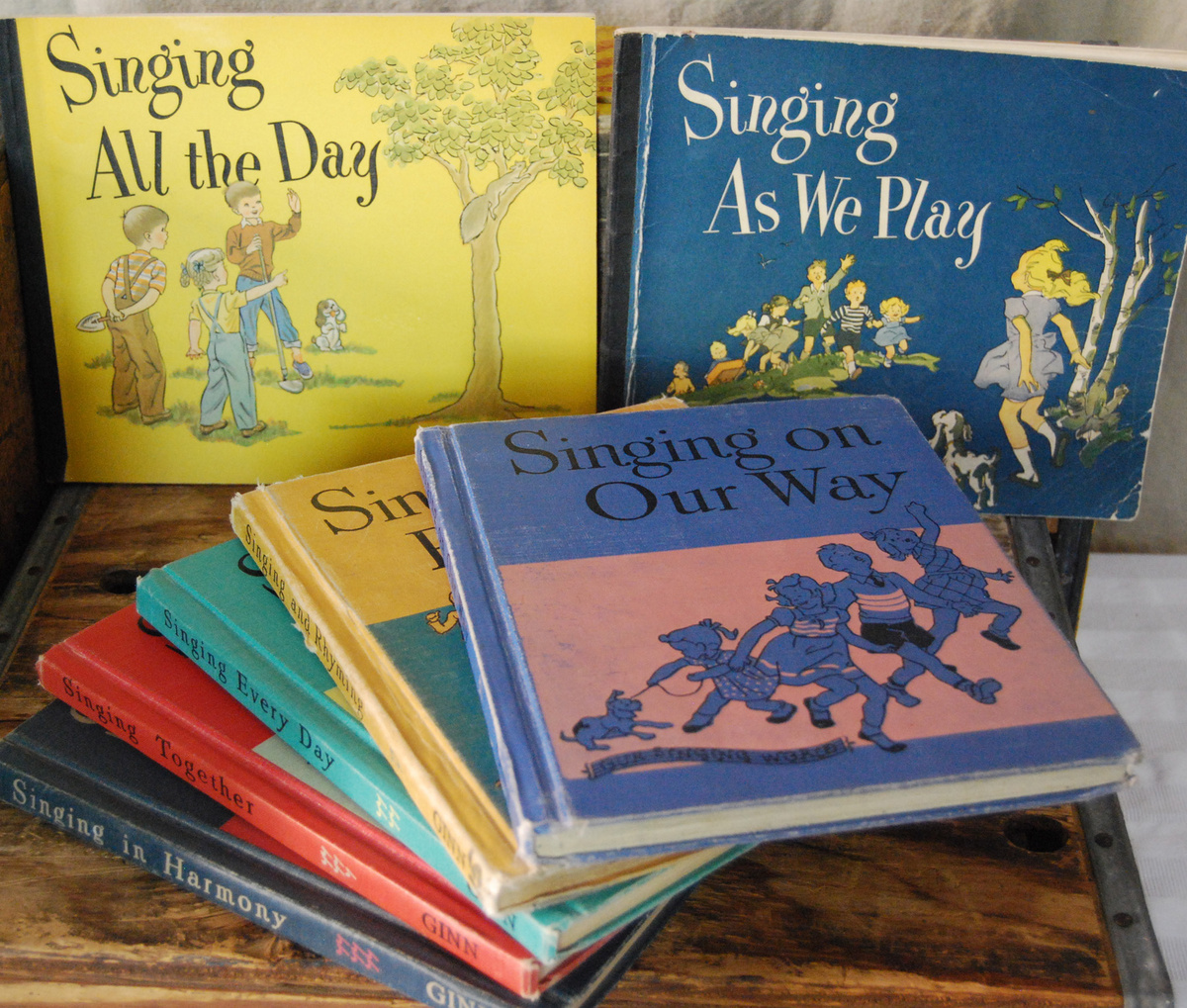 books music collection stories songs schools