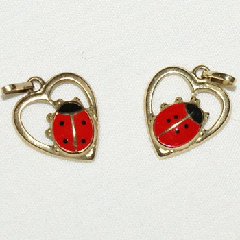 Ladybug Pendants