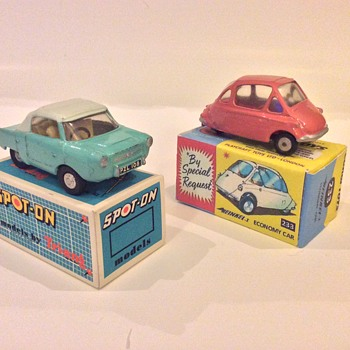 1:43 scale Vintage Mircocars - Model Cars