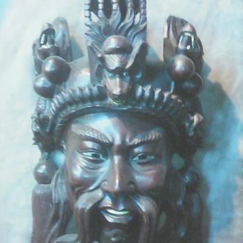 My Chinese wall mask - Visual Art