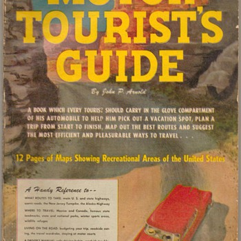 "1953 - ""Motor Tourist's Guide"" - Book - Books"